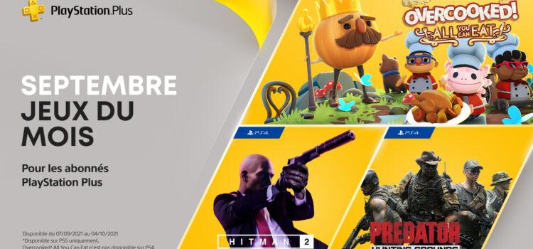 Les jeux PS4 et PS5 offerts pour Septembre 2021 (PS Plus)