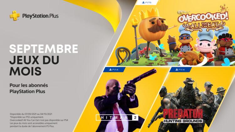 jeux PS Plus Septembre 2021